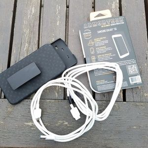 Samsung S5 case phone holster protector cords
